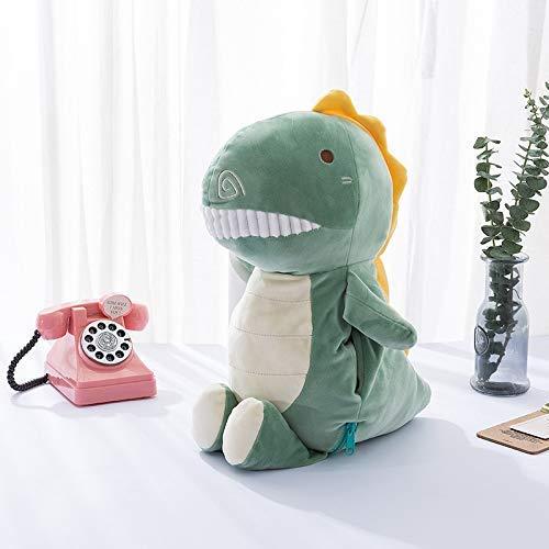 Detazhi Dinosaurio cálido bebé Anti-Pop-up Mano Tesoro Femenino Enchufe Cargar Botella de Agua Caliente