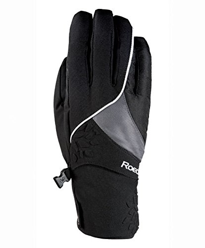 Roeckl Skihandschoenen CASIMA. touchscreen. Waterdicht inclusief Roeck Tex membraan. zwart.