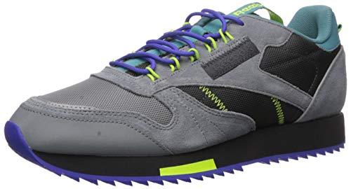 Reebok Men's Classic Leather Sneaker, Grey/Mineral Mist, 8 M US