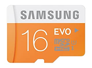 Samsung Memory 16GB EVO MicroSDHC UHS-I Grade 1 Class 10 Speicherkarte Memory Card (bis zu 48MB/s Transfergeschwindigkeit) ohne SD Adapter (B00J2973JG) | Amazon price tracker / tracking, Amazon price history charts, Amazon price watches, Amazon price drop alerts
