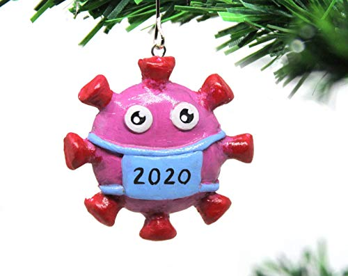 Coronavirus Ornament 2020 | Quarantine Ornament | Face Mask Covid Christmas Tree Ornaments