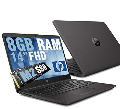 "Notebook HP 240 G8 Portatile Pc Display 14"" Full HD IPS /Cpu Intel Dual Core N4020 Fino a 2.80Ghz /Ram DDR4 8GB /SSD M.2 256GB /Intel UHD Graphics /Hdmi Wifi Bluetooth Lan Usb Type-C /Windows 10 64bit"