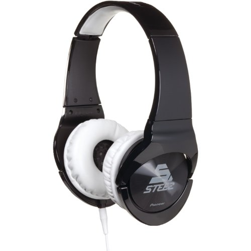 Pioneer SE-MJ751I Steez 808 Stereo-Kopfhörer schwarz