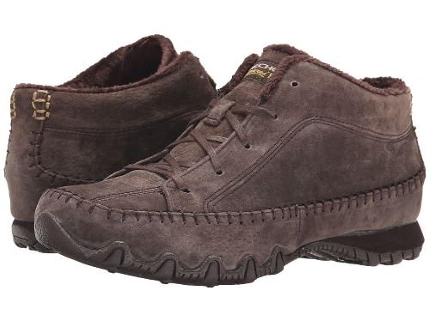 グローブヘロインSKECHERS(スケッチャーズ) レディース 女性用 シューズ 靴 スニーカー 運動靴 Bikers - Totem Pole - Chocolate [並行輸入品]
