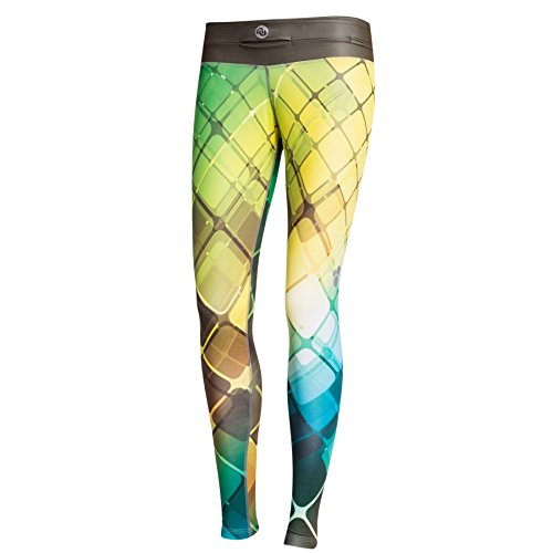 Nessi Collant de Course longue Leggings Oslp Fitness poches de pantalon respirant 02 02 XXS/XS