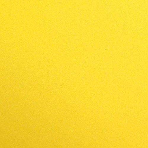 Clairefontaine 97353C Packung (mit 25 Bögen Zeichenpapier Maya, DIN A4, 21 x 29,7 cm, 120g, glatt, ideal für Trockentechnik und Einrahmen) goldgelb