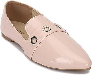 Van Heusen Women's Pink Ballerinas Ballet Flat