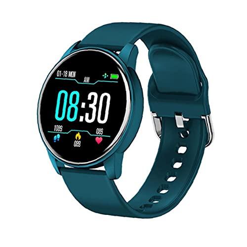 Pulsera Inteligente Reloj Reloj Rastreador Inteligente Reloj de Pulsera Inteligente Deportivos Rastreador de Ritmo cardíaco Reloj Azul de Hombres de Las Mujeres y