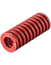 Sourcingmap - Molde de compresión para estampación en espiral (20 mm, diámetro exterior de 50 mm), color rojo