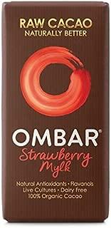 Ombar Strawberry Mylk Raw Chocolate Bar - 35g (0.08lbs)