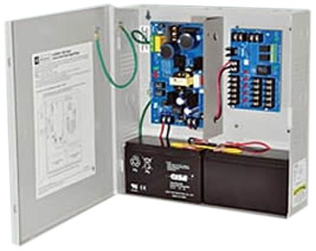 Altronix AL300ULM Access Control Power Supply/Charger with 5 PTC Outputs, 12/24 VDC, 2.5 Amps, Gray (Pack of 1)