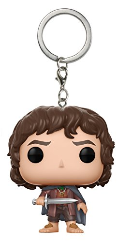 Funko 14037 Herr der Ringe Schlüsselanhänger Figur LOTR/Hobbit: Frodo, unisex-child, Multi