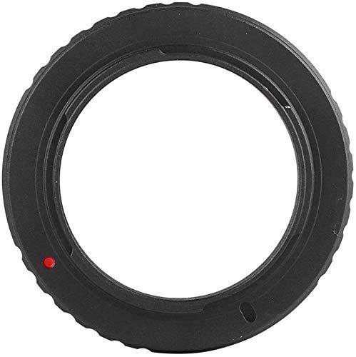 ZUOAO Anillo Adaptador de Lente M48-AI, convertidor de Lente de aleación de Aluminio para Lente de Ocular de telescopio de Montaje M48 * 0,75 para Nikon AI para Canon EOS