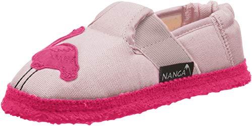 Nanga Mädchen Mädchen-Hausschuhe Flamingo rosa 30