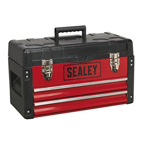 Sealey AP547 – Caja de herramientas con 2 cajones, color r