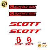 ADHESIVOS MOTOS CLASICAS Bike Stickers - Bike Decorative Sticker - Vinyl Bike Sticker Set Scott SYNCROS Stickers Bike Frame Bike Mountain