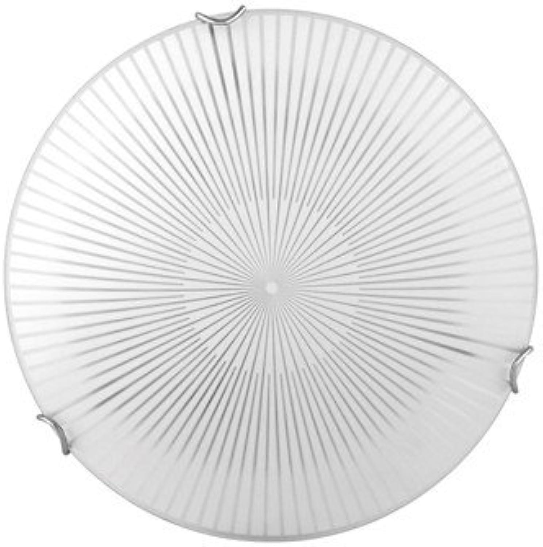 LED Deckenleuchte ALABAMA,  30cm, wei chrom, LED EEK  A++ - A