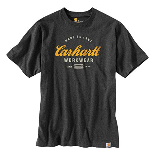 Carhartt Mens Made To Last Relaxed Fit Graphic T Shirt