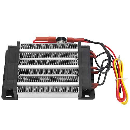 Generatore d'aria calda in ceramica da 600 W 220 V, elemento riscaldante in ceramica riscaldatore PTC isolato