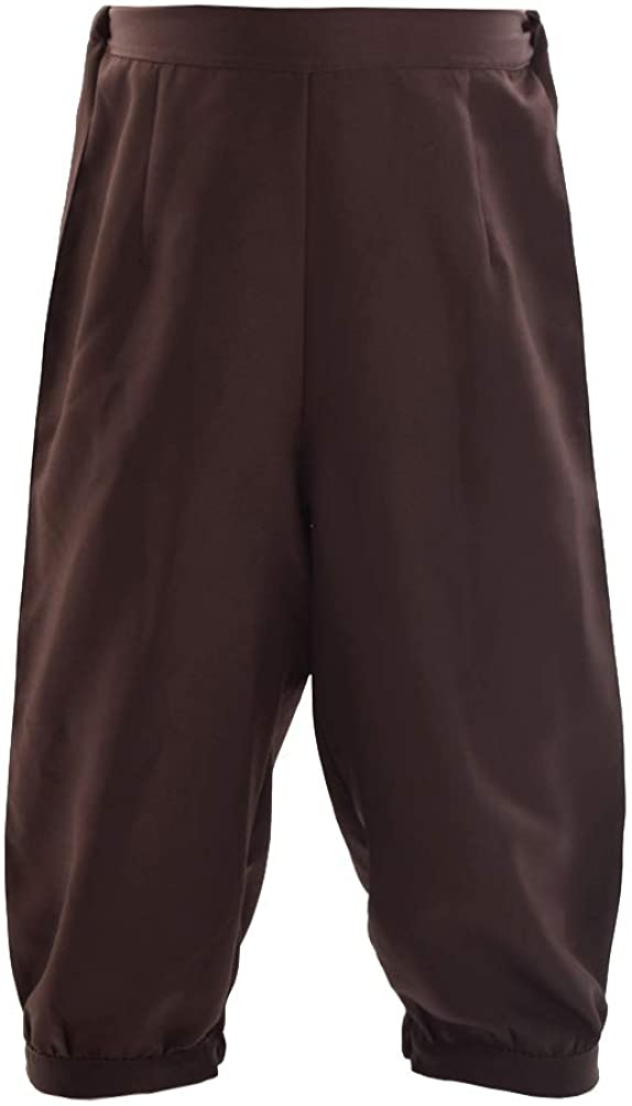 Fashionable gift BLESSUME Retro Colonial Pants Bre Renaissance Knicker Mens