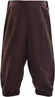 Retro Colonial Pants Renaissance Mens Knicker Pants Breeches
