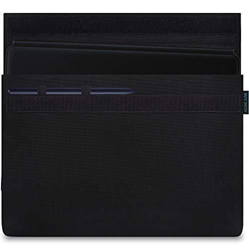 Adore June 11 Zoll Classic Schwarz Tasche kompatibel mit Samsung Galaxy Tab S7 mit S-Pen Halterung
