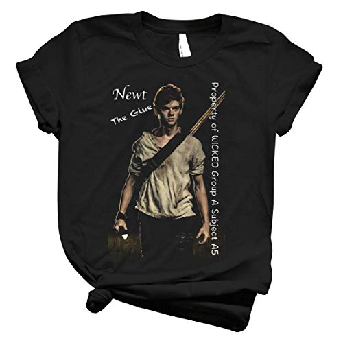 The Maze Runner - Newt 45 - T-Shirt for Boys Women Vintage Classic Tee Trending Customize for Men Girls