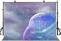 HDプラネット背景神秘的な宇宙背景写真写真の背景小道具スタジオ屋内装飾7X5ft LYLS029