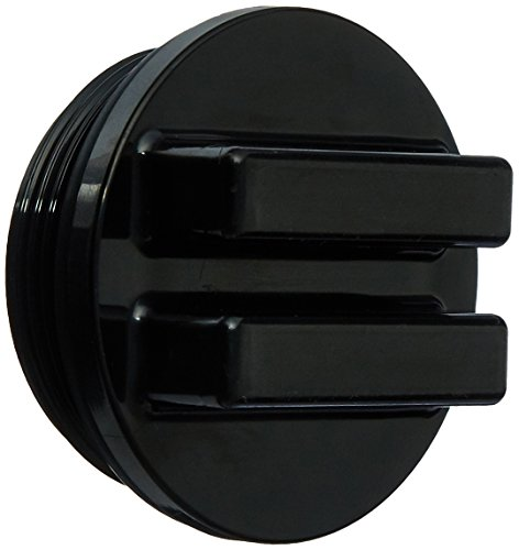 Price comparison product image Hayward SP1022CBLK 1-1 / 2-Inch MIP Black Concrete Pool Drain Plug with O-Ring