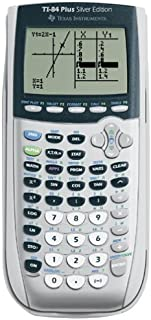Texas Instruments TI-84 Plus Silver Edition Graphing Calculator, Silver (Renewed)