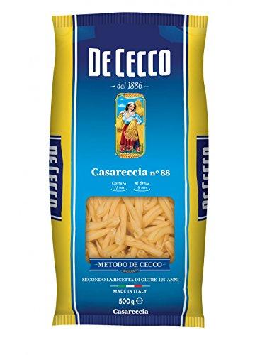 10x Pasta De Cecco 100% Italienisch Casareccia n. 88 Nudeln 500g