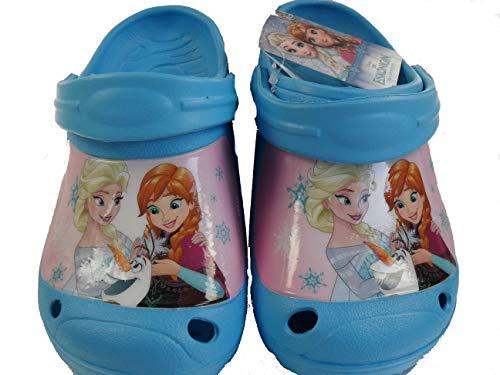 Disney Eiskönign Frozen Kinder Clogs Hausschuhe (30/31)