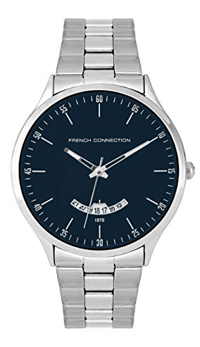 French Connection Quarz Uhr mit Edelstahl Armband FC143SM