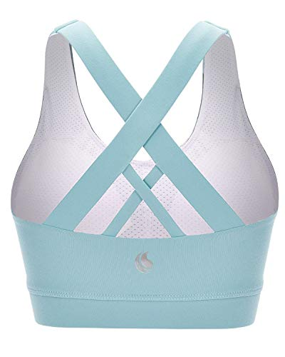 FAFAIR Cross Back Yoga Workout Bra