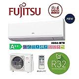 Fujitsu Climatizzatore Condizionatore Inverter 9000 Btu Asyg09kp R32 A++