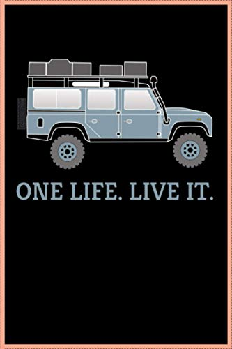ONE LIFE LIVE IT Defender Dachzelt Offroad 4x4 Reisefahrzeug Geschenk lustig