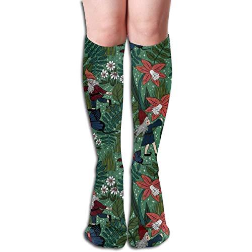 Magische Gartenzwerge Gartenarbeit Frauen Rohr Kniehohe Strümpfe Cosplay Socken 50 cm (19,6 Zoll)