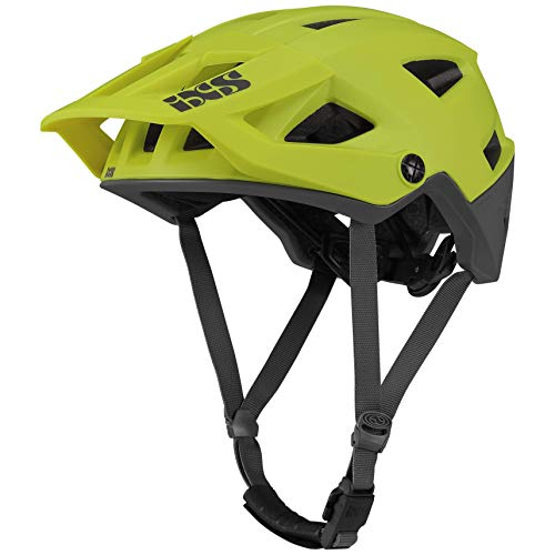 IXS Trigger AM MTB-Helm, Unisex, Lime, SM (54 – 58 cm)