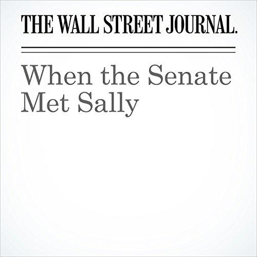 When the Senate Met Sally copertina
