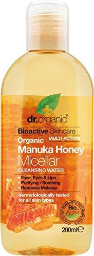 Dr. Organic Agua Micelar Miel Manuka 200Ml Dr. Organic 1