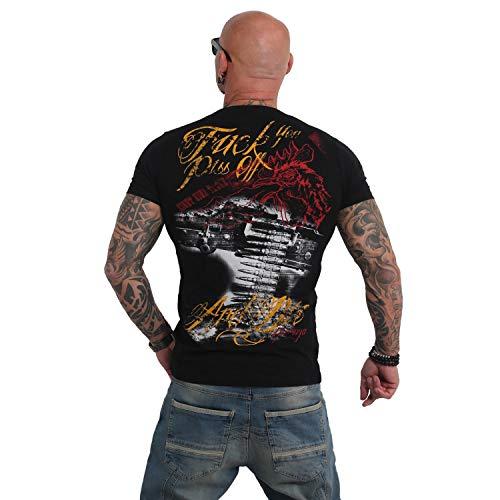Yakuza Herren Piss Off and Die T-Shirt