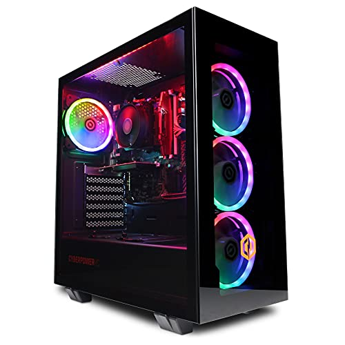 CyberpowerPC Wyvern Gaming PC - Intel Core i5-10400F, Nvidia GTX 1660 Ti...