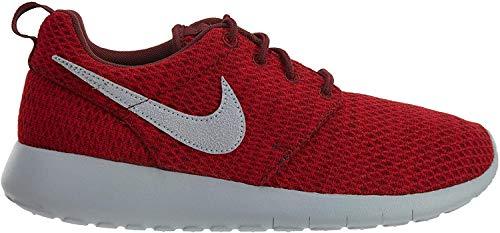 Nike Youth Roshe One Grade School Dark Team Red Grey Fabric Trainers 40 EU