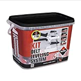 RUBI Kit bridas de nivelación Delta Level System 2 mm, para cerámica de 3 a 12 mm