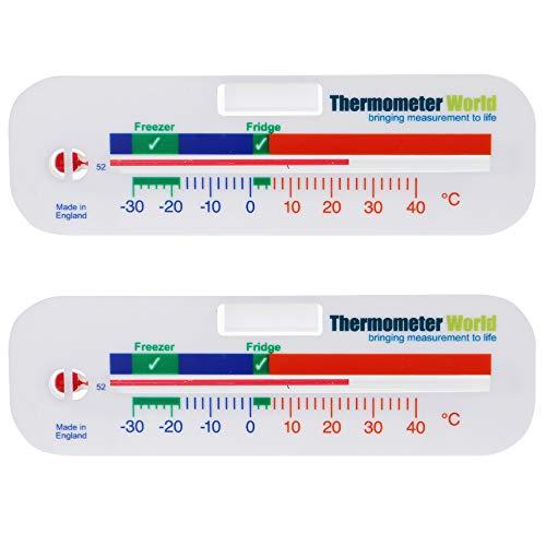 Termometro per frigo e congelatore, confezione da 2