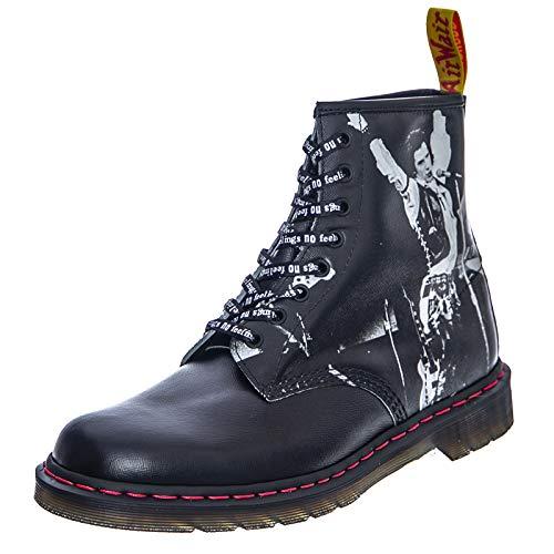 Dr. Martens 1460 Sex Pistols Black Greasy Backhand Boot schwarz EU40