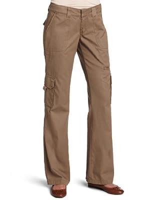 Dickies Women's Relaxed Cargo Pant Rinsed Pebble Brown 16/Regular
