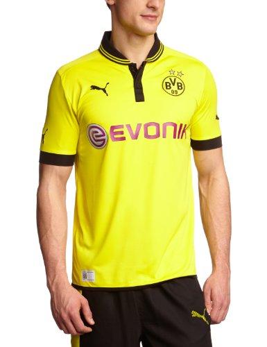 PUMA Herren Trikot  BVB Home Replica, blazing yellow-black, XXXL, 741410 01