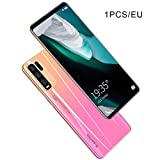 Y50 Pro Smartphone para Android Pantalla Grande de 5.10 Pulgadas Dual SIM Dual Standby Pink EU