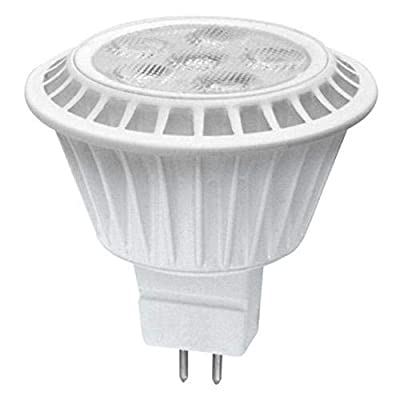 (Case of 6) TCP LED712VMR1627KFL 7-Watt (50W Equal) MR16 2700K Dimmable LED Flood Light Bulb